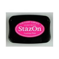 """StazOn мастило """"Fuchsia Pink"""" - 8см х 5см"""