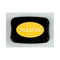 """StazOn мастило """"Mustard"""" - 8см х 5см"""