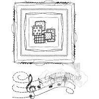 """Прозрачен комплект печати """"Шевове в квадратни форми"""", 49 & Market"""