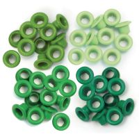 Айлети - стандартни, зелени цветове, 60бр.