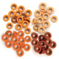 Айлети - стандартни, оранжеви цветове, 60бр.