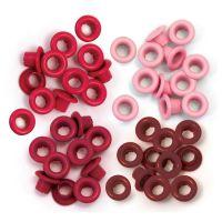 Айлети - стандартни, червени цветове, 60бр.