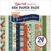 """Дизайнерско блокче хартии """"Имало едно време принц"""", 15см, Echo Park"""