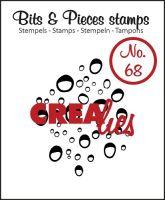 Прозрачен печат №68 - Crealies