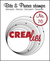 Прозрачен печат №70 - Crealies