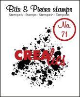 Прозрачен печат №71 - Crealies