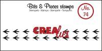 Прозрачен печат №74 - Crealies