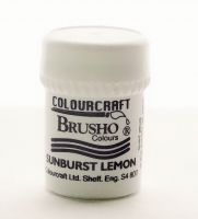 Сух пигмент Brusho Crystal - Sunburst Lemon