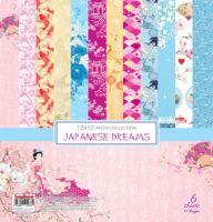 """Дизайнерски комплект хартии """"Японски мечти"""", 30см, ScrapBerry's"""