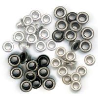 Айлети - стандартни, студени метални цветове, 60бр.