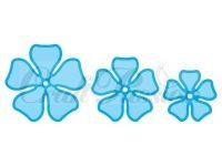 Комплект щанци за изрязване на цветя - сет 2, Craft Passion