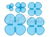 Комплект щанци за изрязване на цветя - сет 4, Craft Passion