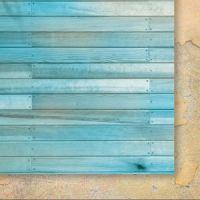 "Дизайнерски лист хартия ""Експедиция до Рая"" - 3, 30.5х30.5см, GP"
