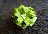 Гардения, 40 мм, зелена.