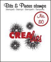 Прозрачен печат №80 - Crealies