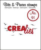 Прозрачен печат №91 - Crealies
