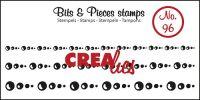 Прозрачен печат №96 - Crealies