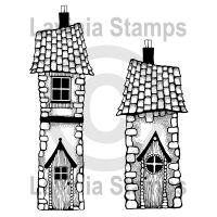 """Прозрачен печат """"Къщата на Бела"""", Lavinia Stamps"""