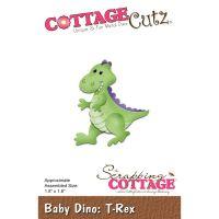 """Щанци за изрязване """"Бебе Дино т-рекс"""", Cottage Cutz"""