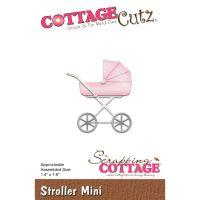 """Щанци за изрязване """"Бебешка количка - мини"""", Cottage Cutz"""
