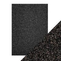 "Брокатен картон ""Black Sapphire"", 5л., А4, 250гр."