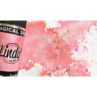 Lindy's Stamp Gang Magical Shaker Alpine Ice Rose