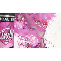 Lindy's Stamp Gang Magical Shaker Magnolia Magenta Gold
