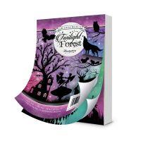 "Дизайнерски хартии ""Twilight Forest"", А6, 144бр."