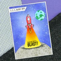 """Маска """"Out of this World"""", Hunkydory Crafts"""