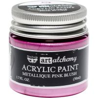 "Акрилна боя металик ""Pink Blush"", Finnabair"
