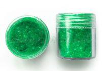 """Натрошено блестящо кадифе """"Нефритено-зелено"""""""
