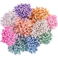 Перлени тичинки - светлорозови, 1мм