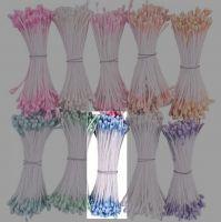 Перлени тичинки - пастелно-сини, 1мм