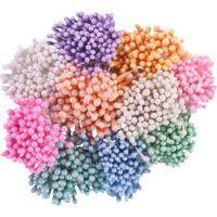 Перлени тичинки - бледопрасковени, 1мм