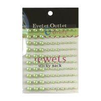 Перли, зелени, 100бр., Eyelet Outlet