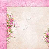 """Дизайнерски лист хартия """"Сладки тайни""""-5 - 30.5см, Lemoncraft"""