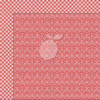 """Дизайнерски лист хартия """"Коледа""""-4 - 30.5см, Lemoncraft"""