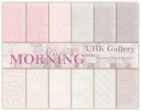 "Дизайнерски комплект хартии ""Misty Morning"", 30см, UHK Gallery"