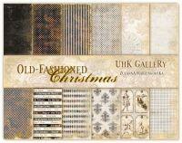 """Дизайнерски комплект хартии """"Old-Fashioned Christmas"""", 30см, UHK Gallery"""