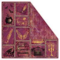 "Дизайнерски комплект хартии ""Magic Twilight"", 30см, UHK Gallery"