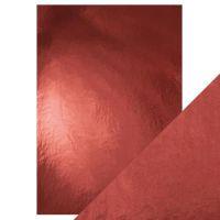 """Огледален картон """"Opera Red"""", 5л., A4, 250гр."""