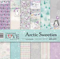 "Дизайнерски комплект хартии ""Арктически сладури"", 30см, Laserowe Love"