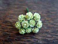 Рози, светлозелени, 10мм